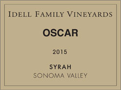 Oscar 2015 Sonoma Valley - Syrah