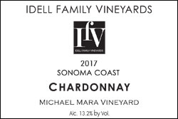 2017 Sonoma Coast - Chardonnay
